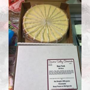 美國紐約原味芝士蛋糕 20切件