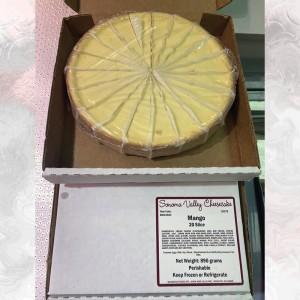 美國紐約芝士蛋糕 芒果味20切
